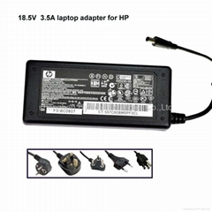 18.5V 3.5A laptop ac adapter for HP