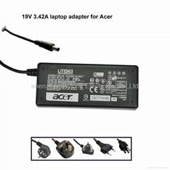 19V 3.42A宏基笔记本电源充电器