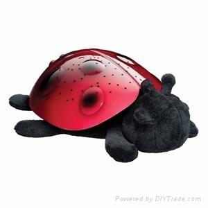 LED Ladybug Projector Lamp Toys 1