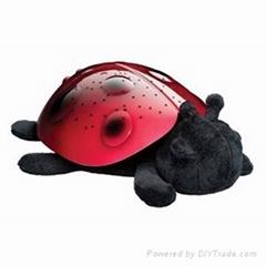 LED Ladybug Projector Lamp Toys