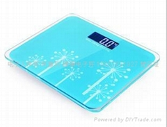 The new 2013 backlit electronic body scale health scale bathroom scale