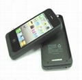 1900 mAh For iPhone 4 Battery External Battery for iPhone 4G Charger Case