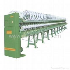 hank to cone winding machine