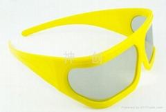 立體偏振眼鏡