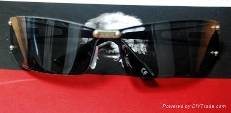 時尚立體眼鏡黑色 4