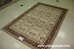 Size 6x9 Handmade Persian Silk Carpet