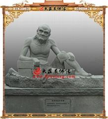 石雕十八羅漢像