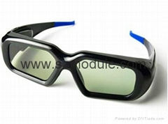 3D Active Shutter Glasses for TV