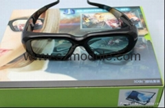 3D Active Shutter Glasses for Computer/Projector