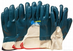 High Quality Jersey Lining With Nitrile Dipped Work Gloves