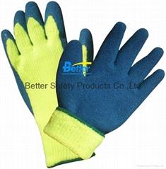 Warmer Acrylic With Latex Coated Work Gloves (BGLC201)