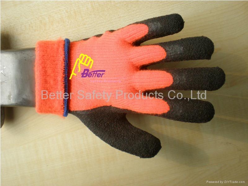 Warmer Acrylic With Latex Coated Work Gloves (BGLC201) 4