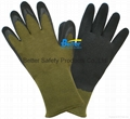 High Quality 10 Guage T/C Yarn Knitted Shell With Latex Coated Work Gloves 2