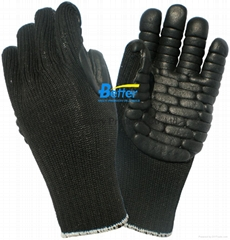Protective Gloves Against Mechanical Vibration and Shock