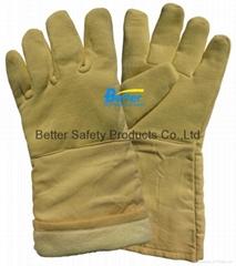 500 Centigrade 100% Aramid Fiber Resistant Work Gloves-BGKH004
