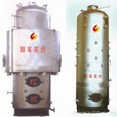 立式1吨燃煤蒸汽锅炉