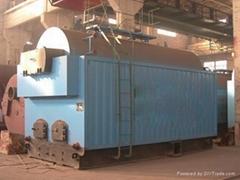 卧式手烧2吨燃煤蒸汽锅炉