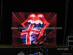 P7.62 indoor full color led stage display