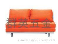 推拉式床架-五金 2