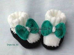 Handmade Hand Knit Baby