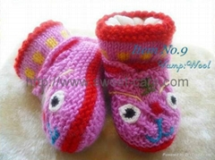 Handknitted Baby Cotton Lining Shoes ,Footwear Shoes (Item No.9)