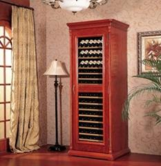 供應美晶經典實木葡萄酒酒櫃