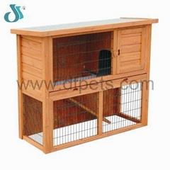 rabbit hutch / Excellent Pet House DFR-042. Dimension:111.5*45*92cm