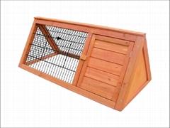 rabbit hutch / triangular rabbit House DFR-047. Size:S,M ,L XL