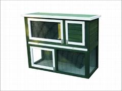 rabbit hutch / wooden rabbite cage DFR-039. Dimension:115*50*92cm