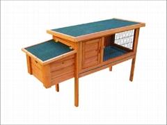 rabbit hutch / rabbit house DFR-050. Dimension:120*45*70.2cm