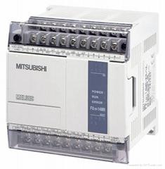 全国   供应全新原装三菱PLC、FX1N-14MR-001