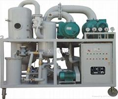 Insulating oil filtering system