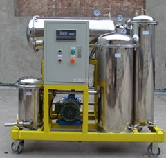Lubricant oil recycling machinery