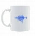 PPP的产品——音乐声纹图案马克杯 1