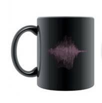 PPP的產品——音樂聲紋圖案魔朮杯子/黑色 1