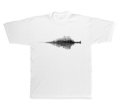 PPP的產品——音樂聲紋圖案個性化T卹  1