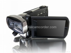 Full HD 16MP Dual CMOS Sensors 3D Camcorder and video camera