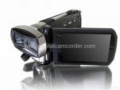 Full HD 16MP Dual CMOS Sensors 3D Camcorder and video camera
