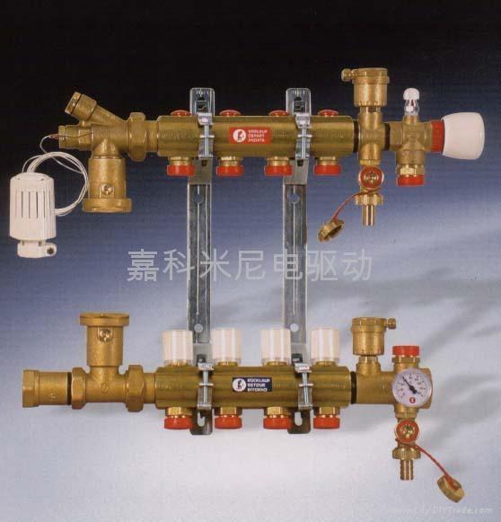 帶混水裝置的分水器 1