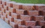 供應鑲嵌式擋土磚 1