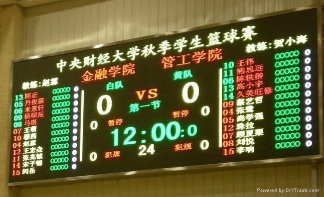 籃球比賽計時記分系統 4