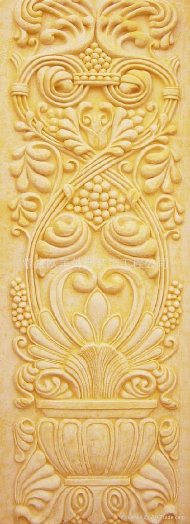 grc欧式浮雕--透光板
