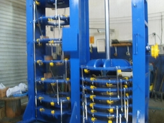 hydraulic press for tyre