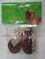 Bottle Shape of Rawhide Dog Chew