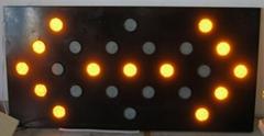 LED车载诱导牌
