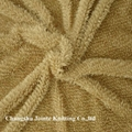 100% Polyester Maize Flocking fabric