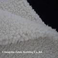 100% Polyester Sherpa Fleece Fabric 3