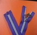 NO.5 nylon open-end sliver-plated zipper 1