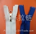 NO.5 nylon open-end auto-lock zipper