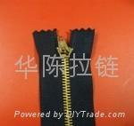 NO.3 Metal Open-end Zipper